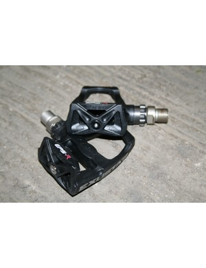 Exustar's E-PR100PP pedals are compatible with Look's Keo system and are adjustable so you can fine-tune their feel.