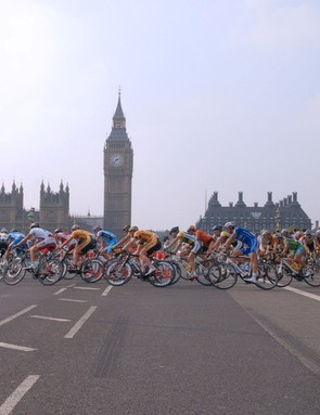 More than 20,000 cyclists will ride the same iconic London streets as the pros