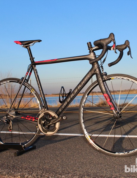 The Cannondale SuperSix EVO Red is the most accessible of the seven-bike SuperSix EVO line