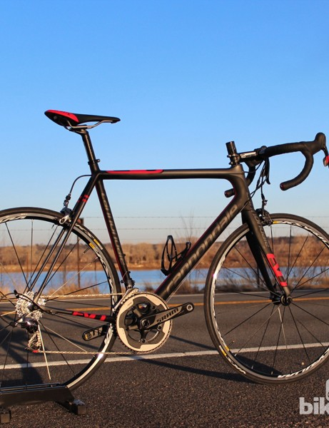 Look for a review of the Cannondale SuperSix EVO Red soon on BikeRadar