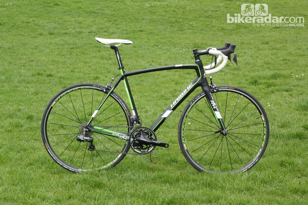 This is the Di2-equipped Haibike Challenge RX