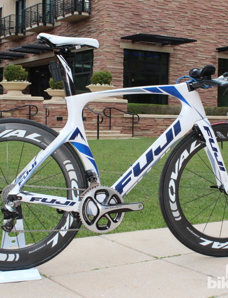 Named for a Strava segment, the Norcom Straight is Fuji's new time trial/triathlon bike