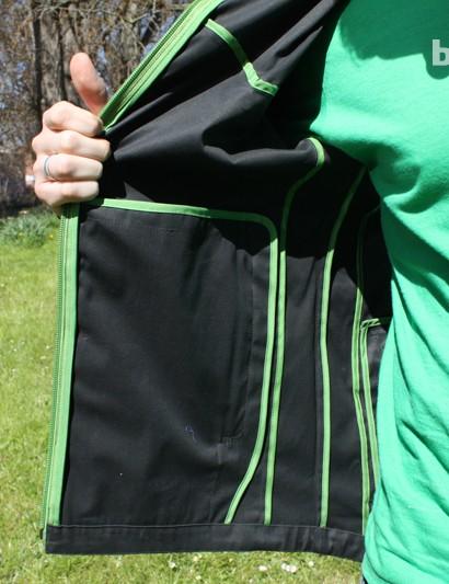 Green piped seams