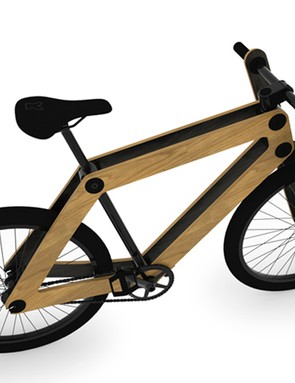 Sandwich bikes are sold online and delivered in pieces