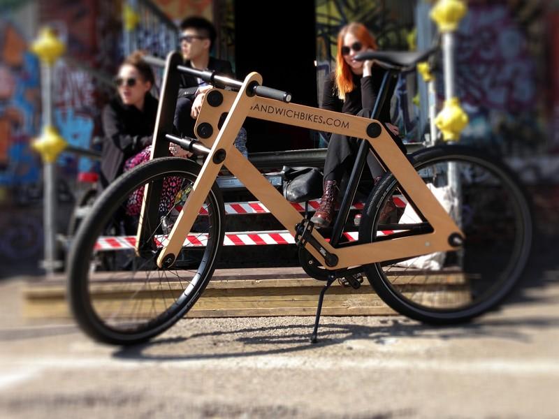 Sandwichbikes are Dutch born, but shippable worldwide