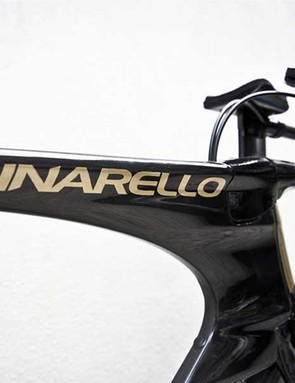Pinarello spent more than a year developing the Bolide which will be raced this weekend at the Giro
