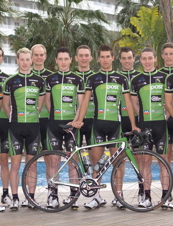 Kinetica Sports are nutrition suppliers to the An Post Chain Reaction Sean Kelly Team
