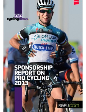 Sponsorship Report on Pro Cycling 2013
