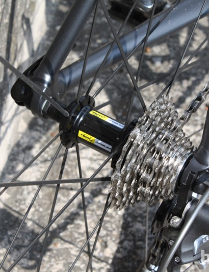 Mavic Aksium wheelset