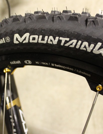 Straight out of the box with decent tyres? It's unheard of! Continental Mountain King Protection 2.4s come as standard