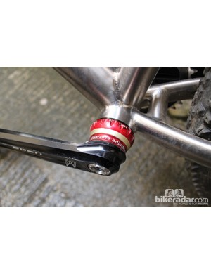 The K3 cranks are narrow and straight-armed