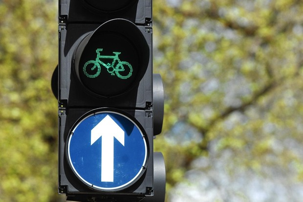 Cyclists' traffic signals become a common sight on UK roads