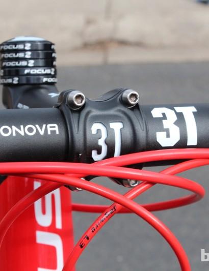We appreciated the flat tops of the 3T Ergonova