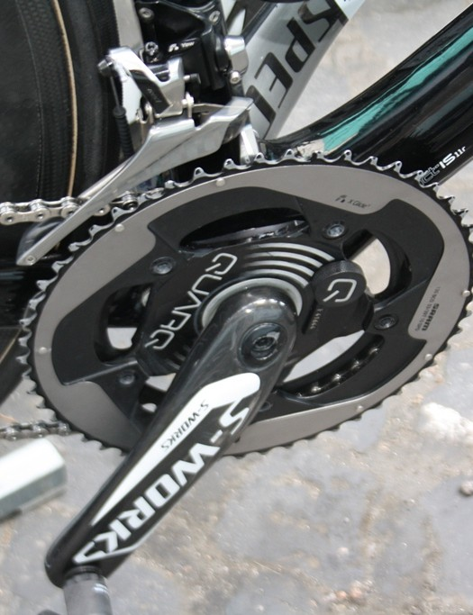 Omega Pharma-QuickStep are Quarq power meter users since the beginning of 2013