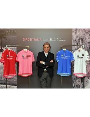 The 2013 Giro d'Italia jerseys as designed by Paul Smith