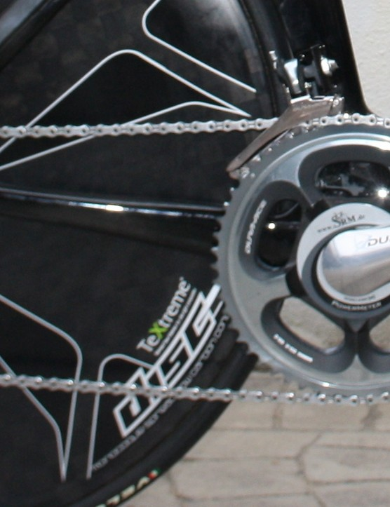 Wiggins is using regular gearing for the 2013 Giro d'Italia Ischia time trial: 56/44T chainrings and an 11x24 cassette