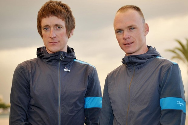 Step aside Sir Bradley Wiggins - Chris Froome (R) will lead Team Sky at this year's Tour de France, says team boss Dave Brailsford