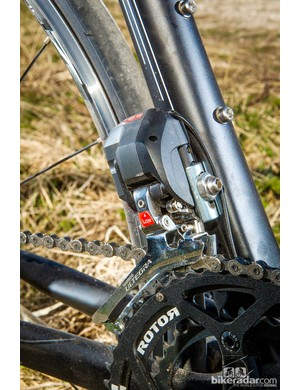 Ultegra Di2 adds weight but shifting is quick and faultless