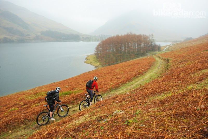The Lake District is a popular destination for mountain biking, family cycling outings and road riding alike