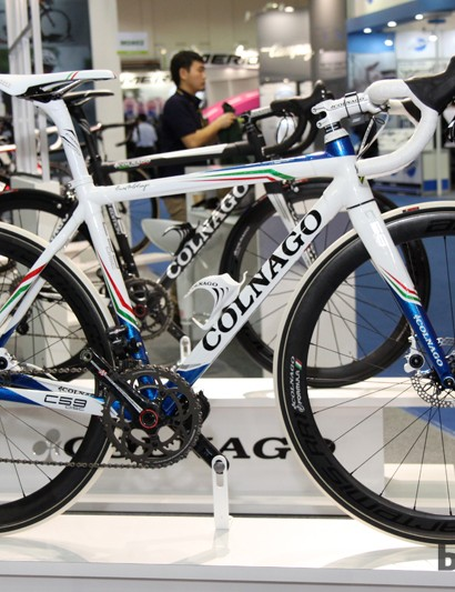 Colnago may have one of the longest histories in the road bike world but the company has also embraced the use of disc brakes, adding them to its top-end C59 model and developing a dedicated brakeset with Formula