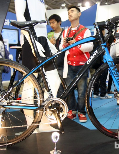 Giant's intriguing Anyroad doesn't look or behave like a traditional road bike - and according to Giant CEO Tony Lo, that's been a good thing sales-wise where the bike has been available. Giant will soon bring Anyroad into the US, too