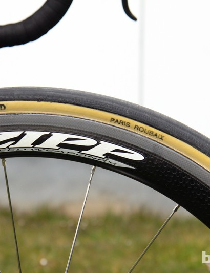 Independent lab data has shown that higher-volume tires have less rolling resistance than traditionally narrow ones, plus they're heaps more comfortable and tolerant of poor-quality pavement. Sure, the aerodynamics aren't as good but how much does that matter to you? Why are we all still on skinny rubber?