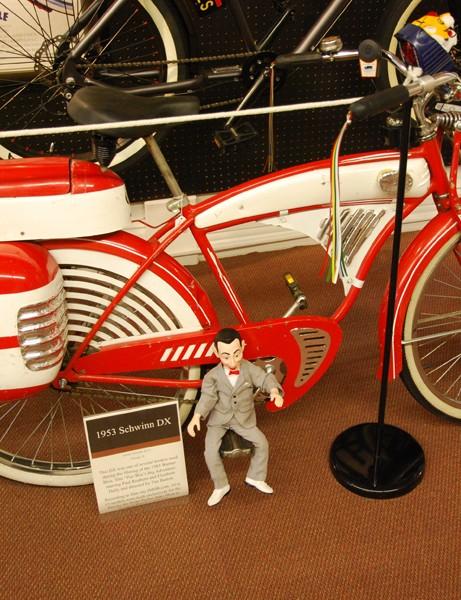 """A """"Pee Wee Herman"""" style 1953 Schwinn DX"""