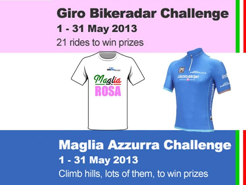 Win prizes this May to celebrate the Giro d'Italia