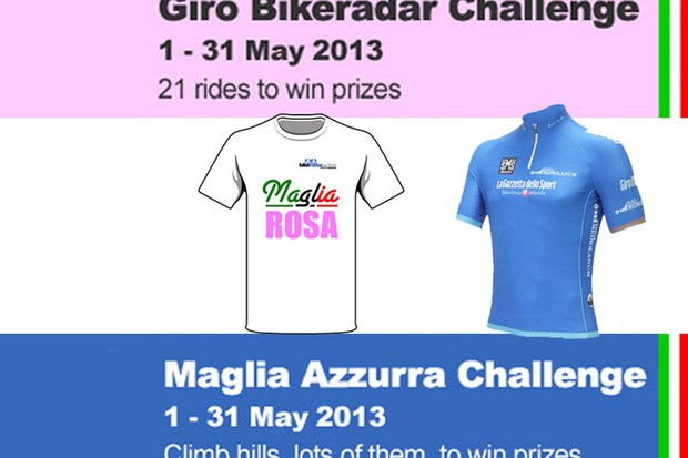 Win prizes this May to celebrate the Giro d'Italia