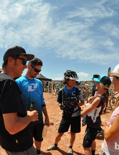 Everyone had stories to tell after the race, usually with a smile on their face