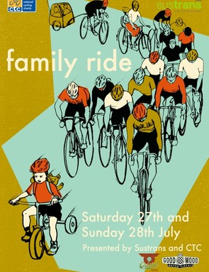 Orbital Cycling Festival family ride