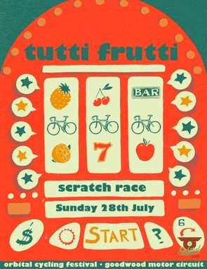 Orbital Cycling Festival scratch race