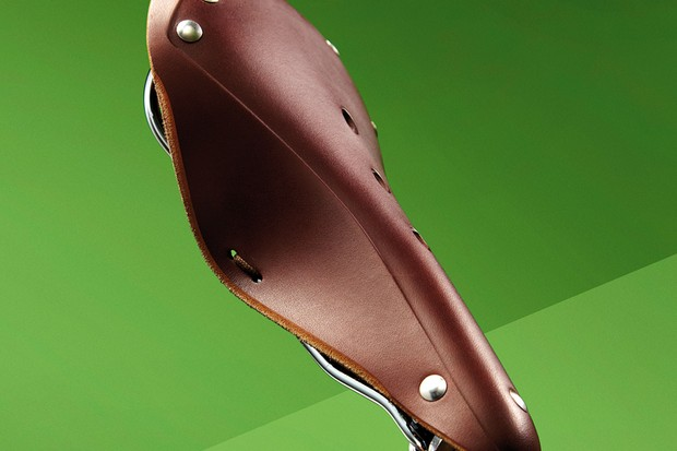 Spa Cycles Nidd leather saddle