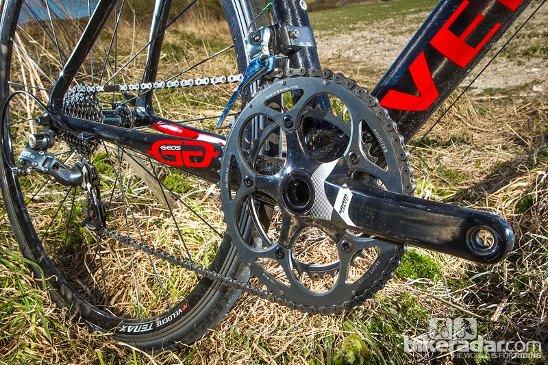 SRAM's Force groupset is very similar to earlier Red