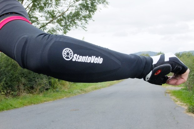 The Stantovelo road rash-protecting arm warmer - will it catch on?