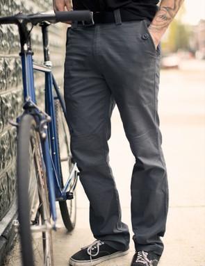 The Division Pant is a cotton/spandex blend