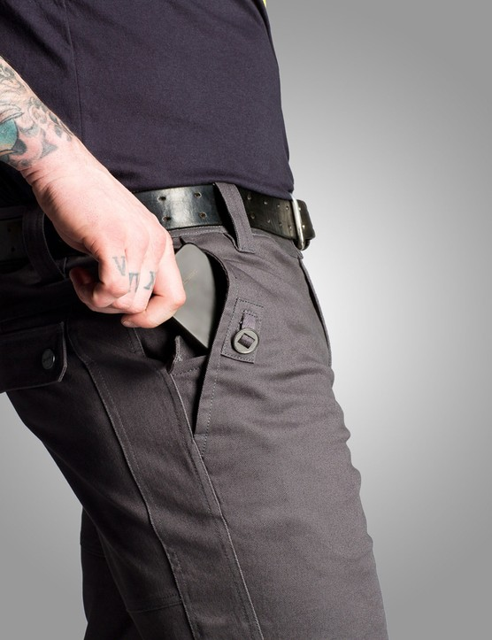 The Division Pant has a water repellant treatment