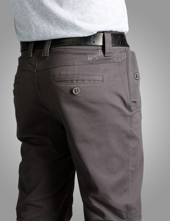 The Division Pant has reflective piping on the cuff hems