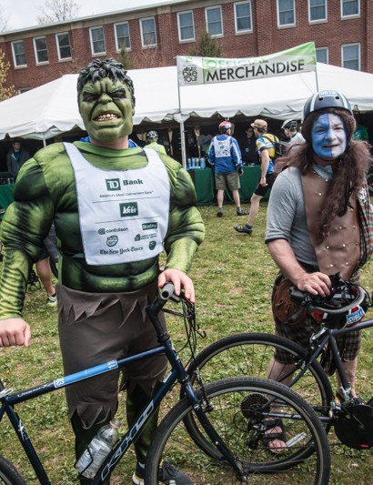At 40 miles, the TD Bike Tour isn't necessarily a serious affair