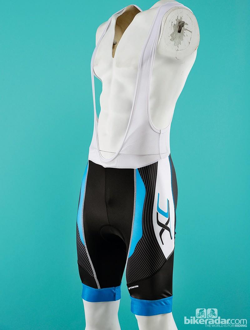 B'Twin 7 XC bib shorts