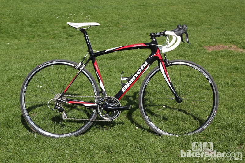 The new-for-2013 Bianchi Vertigo