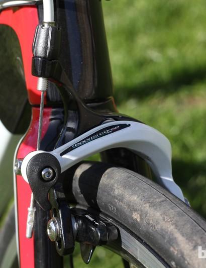 Braking is taken care of by Reparto Corse brakes