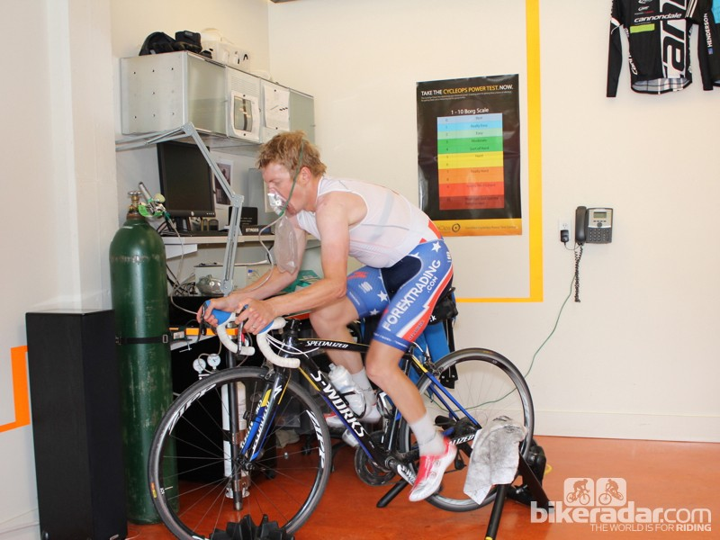 Supplemental-oxygen intervals are used by some pros when at altitude to work the muscles at a rate comparable to what's possible at sea level