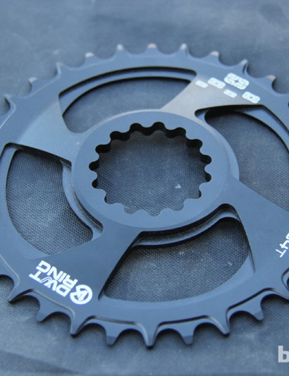 e*thirteen is developing M Rings with alternating tooth thicknesses for SRAM's XX1 drivetrain