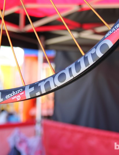 Industry Nine is expanding its Torch wheel line with three new rims - shown here is the Enduro rim; it has an internal width of 26mm
