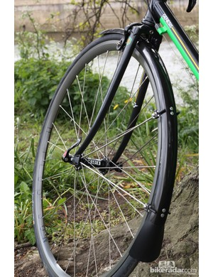Full length mudguards are ideal for those looking to ride long distances in all conditions