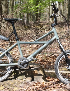 BikeRadar were first to ride this Loopwheels off-road test mule