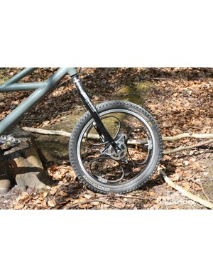 This front Loopwheel offered impressive grip and controlled shock absorption