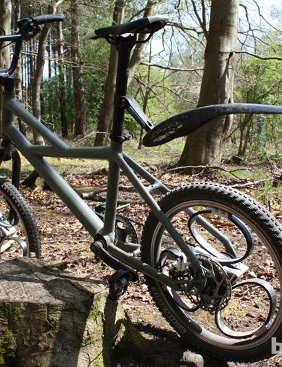 Loopwheels off-road test mule