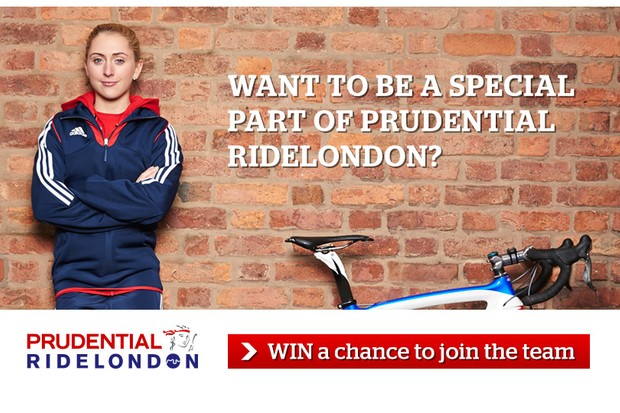 Win one of 10 places on the Prudential RideLondon-Surrey 100 sportive